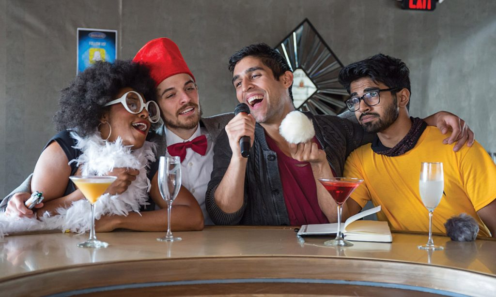 Cincinnati Playhouse in the Park's new Off the Grid Bar Series, geared to young professionals and college students, launched Oct. 5 and continues through March. PHOTO: Mikki Schaffner