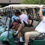 The ninth annual outing drew 116 golfers.