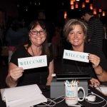 Volunteers Francie Martin and Missy Takas