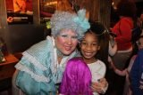 After the performance last year, Camille Howard got her picture taken with a favorite character.