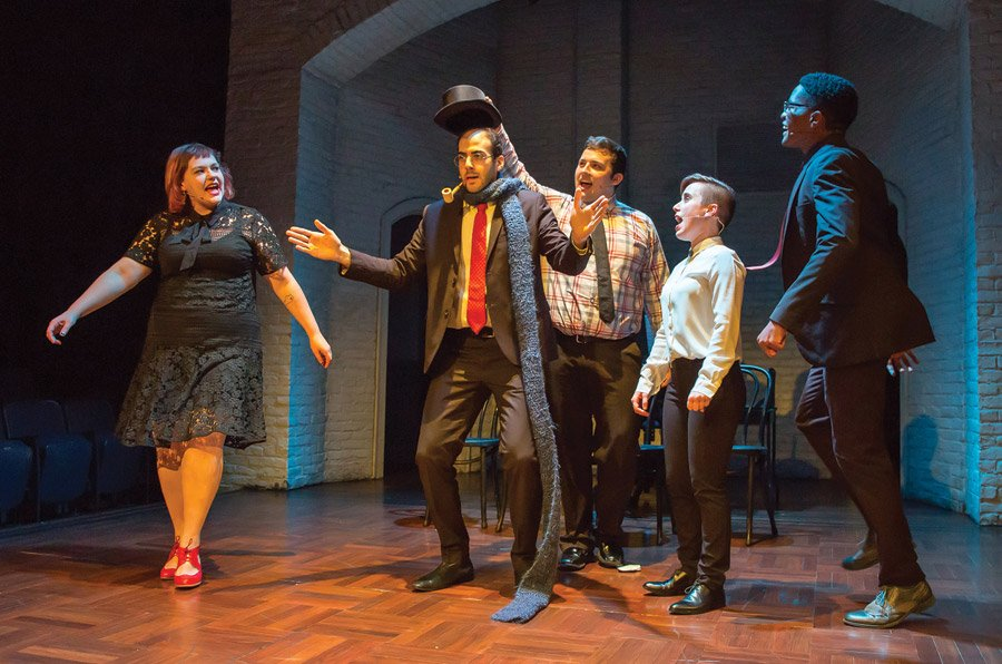 Second City's 'Holidazed and Confused Revue' at Playhouse in the Park
