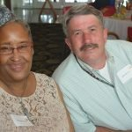 Ramona Jones and Jerry Herman