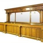 Oak back and front bar: $20,000