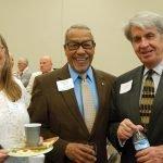 Cindy Douglas, Donald Swain and Tom Cuni