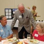 Bob Ramsay, T.D. Hughes and CASA volunteer Sue Ramsay.