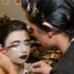 Hair and makeup for the show were done by students at Paul Mitchell the School Cincinnati.