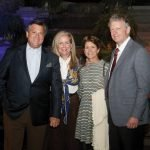 Stepping Stones board president John Mongelluzzo and Kerry Mongelluzzo, with honorees Beth and Doug Brendamour