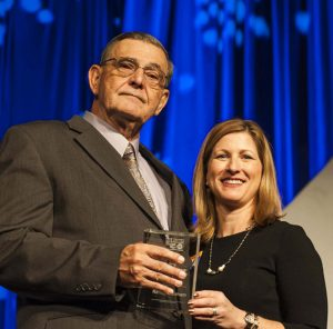 Honoree Randy Dunham and Cheryl Rose