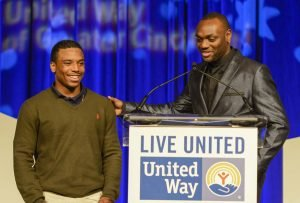 Terence and Terrell of Big Brothers and Big Sisters