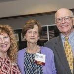 Echo Garrett with Cincinnati Works co-founders Liane and Dave Phillips