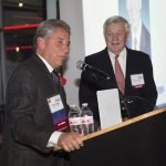 Frank Leggio, ReSource board member emeritus, with ReSource founder Bob Castellini