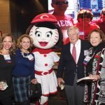 Acacia Flamm, Stephanie McCall, Rosie Red, Bob Castellini and Marjorie Hull