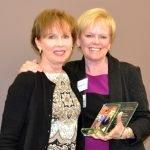 Honoree Nancy Johannigman and Marcia Spaeth