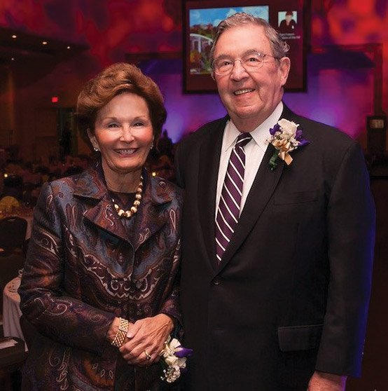 Honorees Mary Ellen and Tom Cody