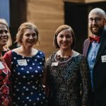 Kristin Wiley, Elizabeth End and Ann and Ryan Dempsey