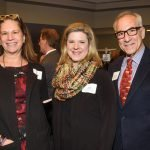 Tamara Harkavy of ArtWorks with Julie Maslow Goodman and David Ginsburg of Downtown Cincinnati Inc.