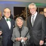 Dianne Rosenberg, David Rosenberg, Marilyn Braude, Dr. Louis Claybon and Dean Jonathan Cohen