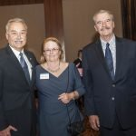 Alfonso Cornejo, president of the Hispanic Chamber; Marilyn Cornejo; and Vicente Fox Quesada