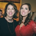 Board president Susan Mustian with executive director Melissa Newman