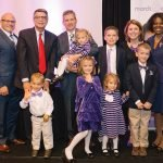 Special guests Dr. Kevin Joseph, Dr. Sherif Awadalla, the Woodward family (Jeff, Kelly, Larkin, Liam, Adelynn and triplets Karoline, Elise and Gabriel) and Ruby Crawford-Hemphill