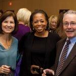 Susan McDonald; Tina Jackson, MOD executive director of market development; and Mark McDonald