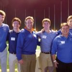 St. Xavier High School golf team with Greg Anderson