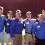 St. Xavier High School golf team with Greg Anderson