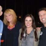 Event producers Roger Grein, founder of Magnified Giving; Terry Smith; Mari Beckert; and Steve Caminiti