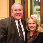 Bill Schumacker of Park National Bank and Lynn Schumacker