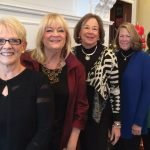 Donna Schneider, Evelyn Banzhaf McCord, Jayne Zuberbuhler, Margo Hall and Anne Chasser