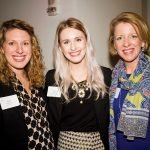 Women's Leadership Roundtable members Holly Mazzocca, Lauren Wells and Jennifer Damiano
