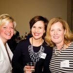 Women's Leadership Roundtable members Suzanne Rohlfs, Raphaela Platow and Jenny Powell