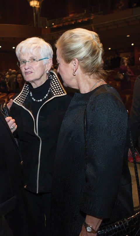 Susan Tew and Kay Geiger