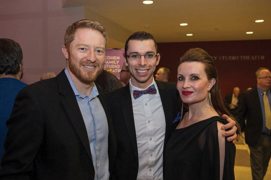 Rob Bartz, Matthew Stenger and Tracey Conrad