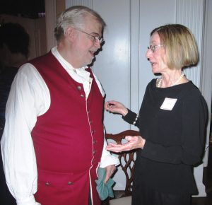 The Rev. Stephen Hoard and Annette Carothers