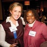 Board member Clare Blankemeyer and Elizabeth Jones