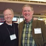 Board members Scott Robertson and Tad Lawrence
