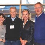 Marjorie Hulgrave, Albert Hulgrave, Frances Lindner and Craig Lindner