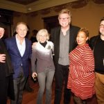 Jim Tarbell, Bill Baumann, Liz Grubow, Jerry Kathman, Regina Carswell Russo and Matt Russo