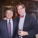 Stepping Stones board president John Mongelluzzo and Jim Shanahan