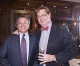 Stepping Stones board president John Mongelluzzo and Jim Shanahan