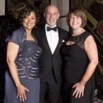 Honorees Stephanie Byrd and Steve Shifman with 4C president/CEO Vanessa Freytag