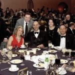 At the PNC table: (seated) Cheryl Rose, Amy Belletti, Chris Belletti, Jack Geiger, and Kay Geiger, PNC market president and past honoree; (standing) Jeff Chapman, Mark Kinsel and Shawna Kinsel