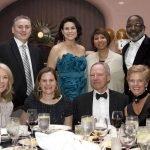 RFC Group table: (seated) Jill Meyer, Amy Thompson, Scott Robertson and Lauri Robertson; (standing) Kurt Kleymeyer, Johnna Reeder, Dawn Satterwhite and Carl Satterwhite