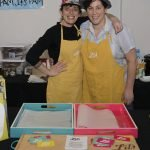 Chef Julia Keister and Hannah Lowen from Lil's Bagels