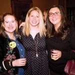 Committee members Sarah Beth Carpenter, Gwen Kirles and Revae Embs
