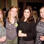 Kelsey Hanrahan with ArtsWave YP committee members Ali Alurovic, Kelly O'Brien and Victoria Daly
