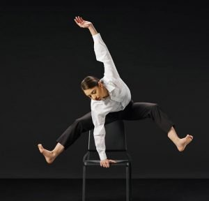 "Christina LaForgia Morse in ""Bold Moves"" Photo by Aaron M Conway"