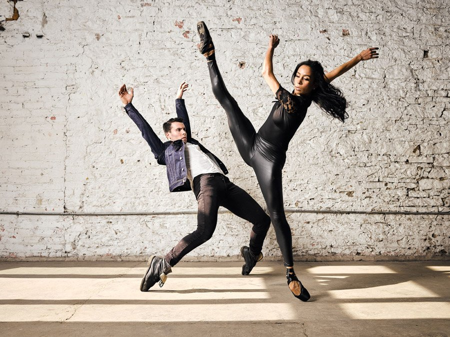 Dancers Jake Casey and Maizyalet Velázquez of the Cincinnati Ballet
