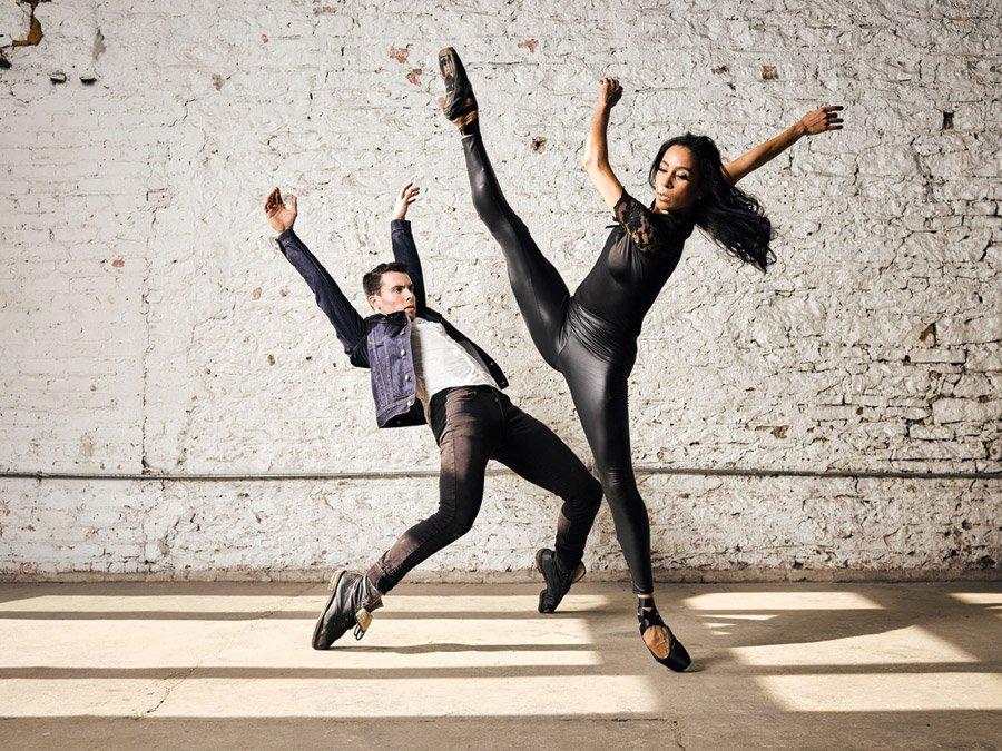 Dancers Jake Casey and Maizyalet Velázquez of the Cincinnati Ballet